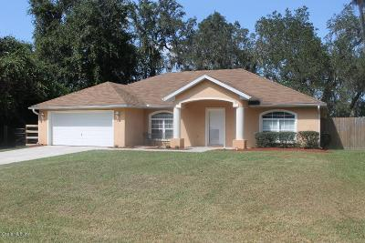 Belleview Single Family Home For Sale: 10085 SE 106th Street