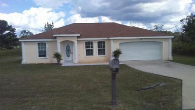 Ocala Single Family Home For Sale: 133 Juniper Loop Circle