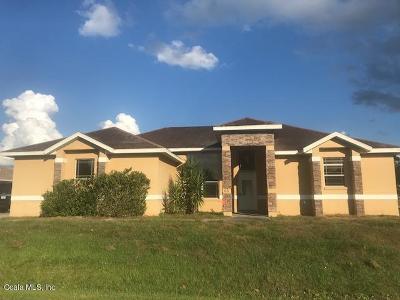 Ocala Single Family Home For Sale: 65 Bahia Trace Circle
