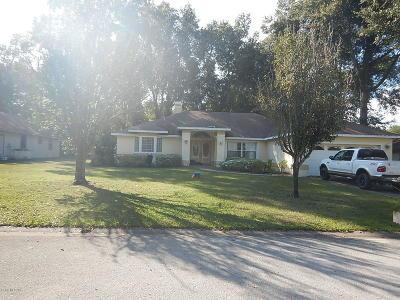 Ocala FL Single Family Home For Sale: $210,000