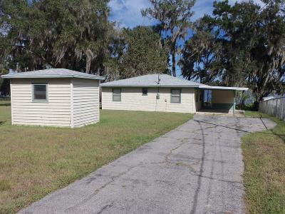 Dunnellon Single Family Home For Sale: 7647 W Riverbend Road