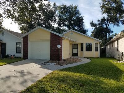 Ocala FL Single Family Home For Sale: $119,900