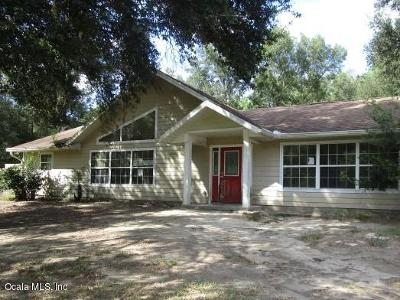 Dunnellon Single Family Home For Sale: 13545 SW 100th Street