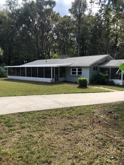 Ocala Single Family Home For Sale: 110 SW 74th Ln Lane