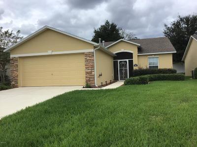 Ocala FL Single Family Home For Sale: $169,900