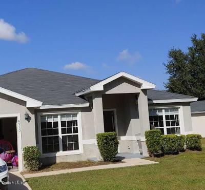 Ocala FL Single Family Home For Sale: $189,000