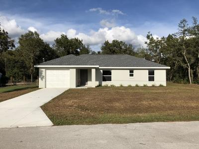Ocala Single Family Home For Sale: 57 Pine Radial