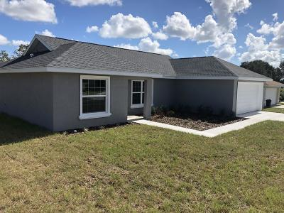 Ocala Single Family Home For Sale: 8119 Juniper Road