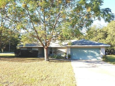 Belleview Single Family Home For Sale: 10111 SE 132nd Place