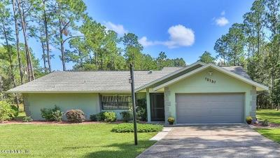 Citrus County Single Family Home For Sale: 10161 N Biscayne Drive