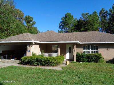 Summerfield Single Family Home For Sale: 3233 SE 145th Street