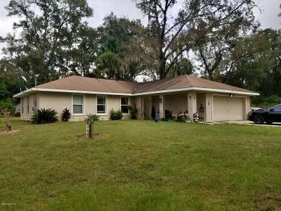 Ocala Single Family Home For Sale: 5315 SE 26th Avenue