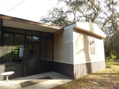 Mobile/Manufactured Pending-Continue to Show: 4931 NE 140 Court