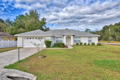 Ocala Single Family Home For Sale: 21 Dogwood Drive Radial