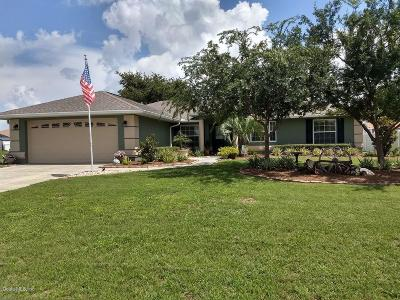 Belleview Single Family Home For Sale: 6881 SE 103 Place