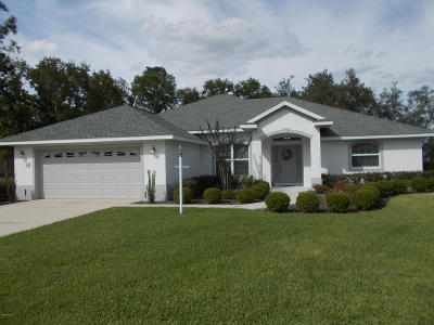 Ocala Single Family Home For Sale: 75 Golf View Drive
