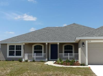 Meadow Glenn Single Family Home For Sale: 9670 SW 51st Circle Circle