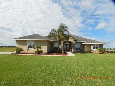 Belleview Single Family Home For Sale: 9582 SE 61st Terrace