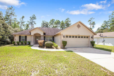 Marion Oaks North, Marion Oaks Rnc, Marion Oaks South Single Family Home For Sale: 16280 SW 24th Terrace