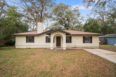 Ocala Single Family Home For Sale: 3280 NE 17th Avenue