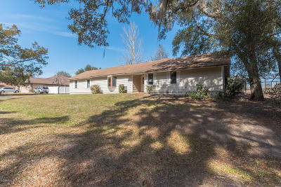 Dunnellon Single Family Home For Sale: 13777 SW 109th Lane