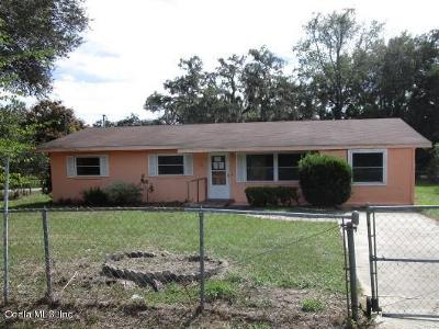 Belleview Single Family Home Pending: 7228 Hwy 25a