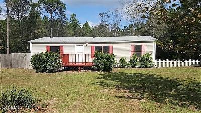 Dunnellon Mobile/Manufactured For Sale: 19037 SW 51st Lane