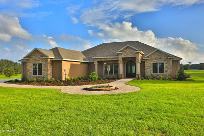 Ocala Single Family Home For Sale: 796 SE 116th Pl Road