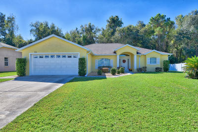 Ocala Single Family Home For Sale: 7636 SW 103rd Loop