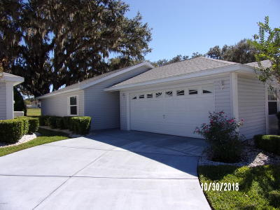 Spruce Creek So Single Family Home For Sale: 17541 SE 100th Court