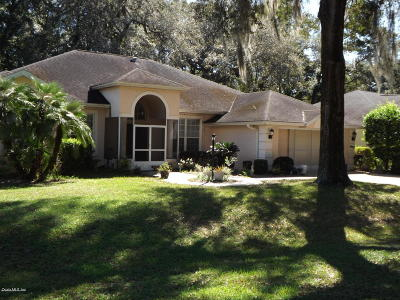Dunnellon Single Family Home For Sale: 8995 SW 194th Court