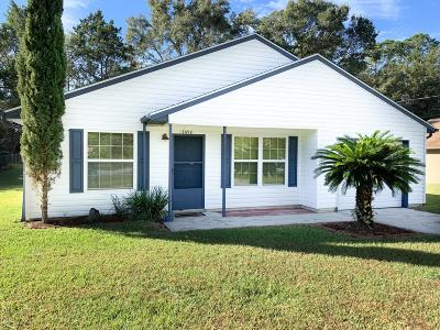 Dunnellon Single Family Home Pending: 21212 SW Peachblossom Street
