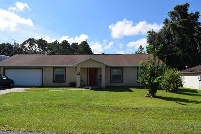 Ocala Single Family Home For Sale: 740 NW 64th Place