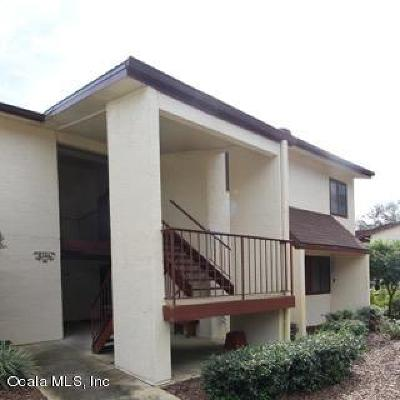 Ocala Condo/Townhouse For Sale: 638 Midway Drive #A
