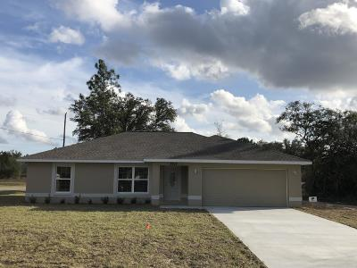 Marion Oaks North, Marion Oaks Rnc, Marion Oaks South Single Family Home For Sale: 6014 SW 131 Lane