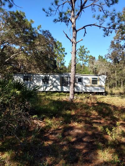 Dunnellon Mobile/Manufactured For Sale: 9635 N Parkwood Avenue