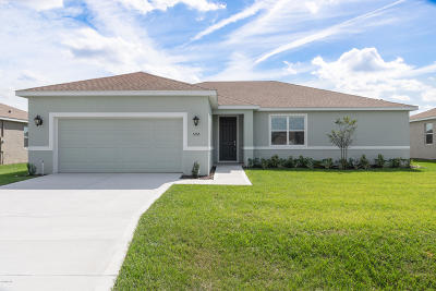 Ocala Single Family Home For Sale: 5156 SE 91st Place