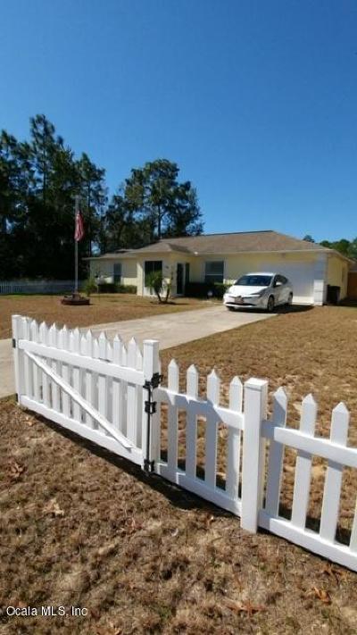 Ocala Rental For Rent: 58 Hemlock Trail