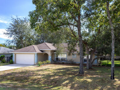 Summerfield Single Family Home Pending: 9090 SE 154th Street
