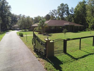Ocala Single Family Home For Sale: 2742 SE 48 Street