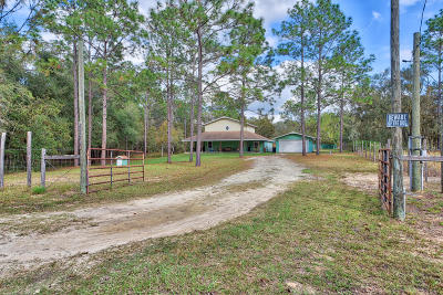 Citrus County Single Family Home For Sale: 5771 S Chaparral Terrace