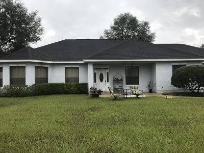 Dunnellon Farm For Sale: 10095 SW 129th Terrace Road