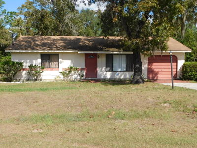 Ocala Single Family Home For Sale: 518 Pine Way
