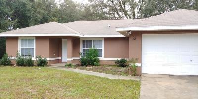 Ocala Rental For Rent: 205 Oak Lane Way