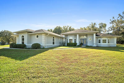 Ocala Single Family Home For Sale: 8911 SW 8th St. Street