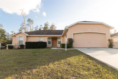 Ocala Single Family Home For Sale: 15715 SW 52nd Avenue Road