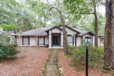 Gainesville Single Family Home For Sale: 4307 NW 56th Way