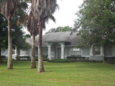 Ocala Single Family Home For Sale: 5414 SW 100th Loop