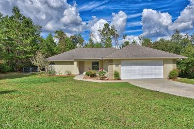 Ocala Waterway Single Family Home For Sale: 10924 SW 48th Terrace