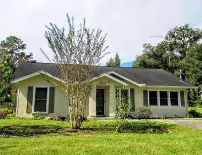 Dunnellon Single Family Home For Sale: 12110 Myrtle Street